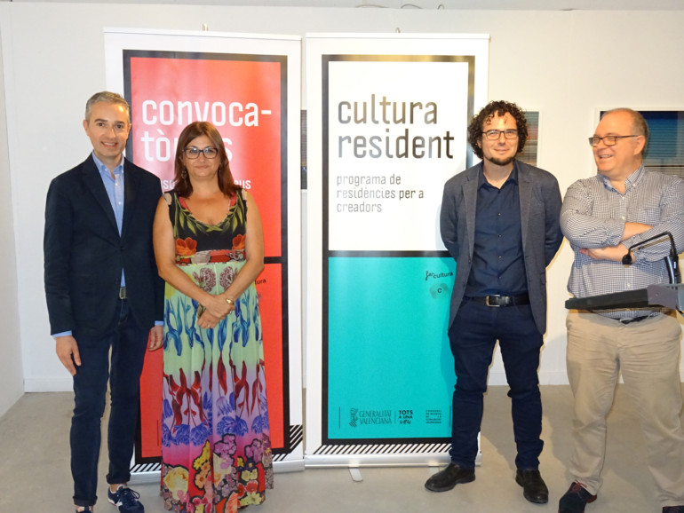 Cultura llança la seua primera 'Residència per a Producció' a Alacant