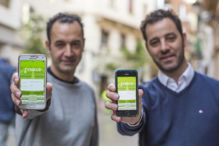 (De izq. a derecha) Víctor y Jorge Arenas, fundadores de Fynkus