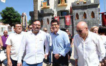 """Jorge Rodríguez: """"El nuevo castillo de fiestas de Aielo de Malferit ayuda a engrandecer sus Moros y Cristianos"""""""