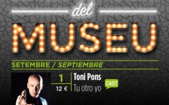 Toni Pons actúa en 'Las Noches del Museu' con su espectáculo 'Tú otro yo'