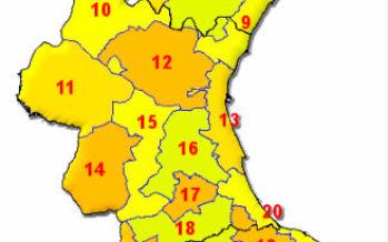 Alerta por altas temperaturas en más de 70 municipios de la Comunitat