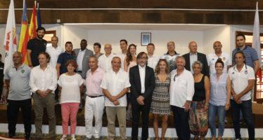 El Ayuntamiento de L'Alcúdia celebró la recepción a las delegaciones internacionales del COTIF