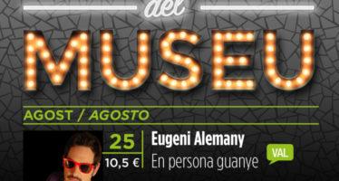 Eugeni Alemany actúa en 'Las Noches del Museu'