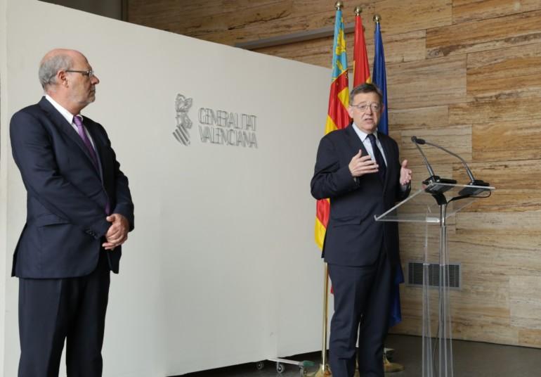 """El president de la Generalitat, Ximo Puig, ha asegurado que la Agencia Valenciana de la Innovación (AVI) es un proyecto """"concebido desde la cogestión entre empresarios, sindicatos, agentes innovadores y actores del mundo de la innovación"""""""