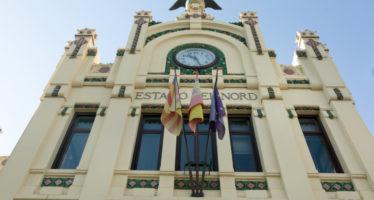 La Estación del Norte de València cumple cien años