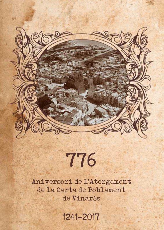 776 aniversari de l'atorgament de la Carta de Poblament de Vinaròs