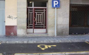Almassora adapta al model europeu 250 targetes d'estacionament per a persones amb mobilitat reduïda