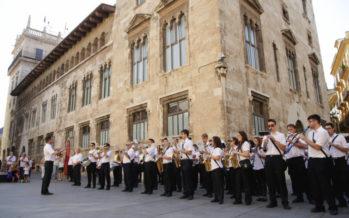 La Societat Musical 'La constància' de Moixent participa en 'Les Bandes al Palau de la Generalitat'