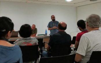Primera sessió del procés participatiu sobre l' Aula Natura de Canals