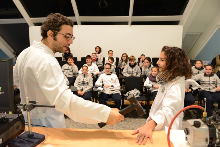 Astromenuts, nueva actividad en el Museu de les Ciències