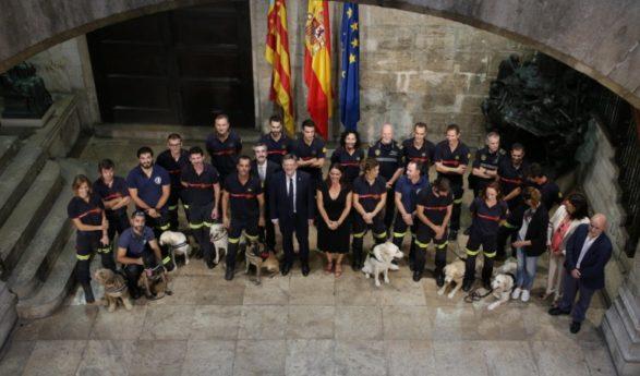 La Unidad Canina de Rescate de València se abrirá a toda la Comunitat