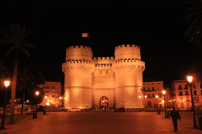 Torres de Serranos. Foto: Javier Furió