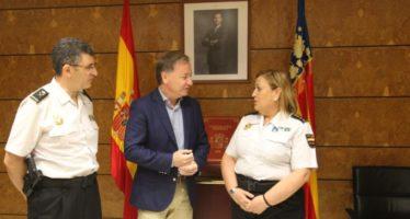 Moragues se reúne con la nueva Comisaria Principal de Castellón