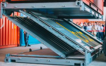 Navlandis entra en el mercado USA con su contenedor plegable