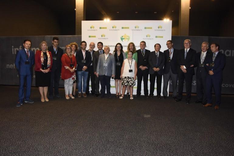 Premios solidarios ONCE Comunidad Valenciana 2017