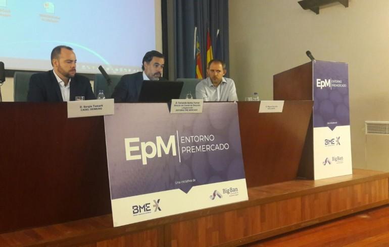 Presentación de Navlandis en la Bolsa de Valencia