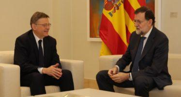 Puig plantea a Rajoy un decálogo de medidas para reformar el sistema de financiación