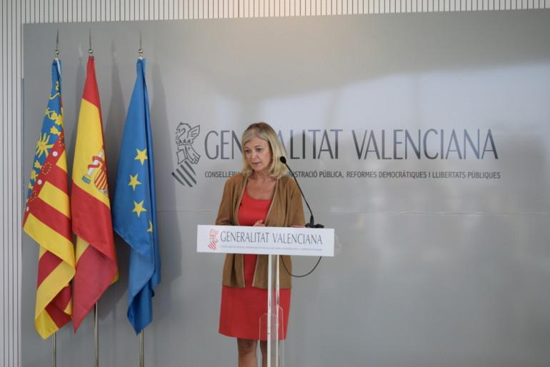 Rueda de prensa de Gabriela Bravo sobre el incendio en la Ciudad de la Justicia