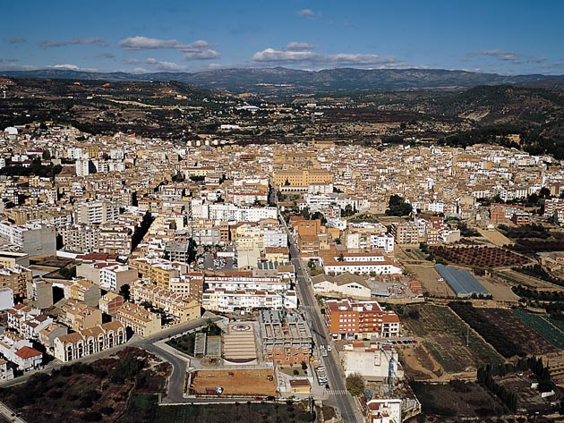 Vista aérea de Segorbe. Foto: Turismo de Castellón