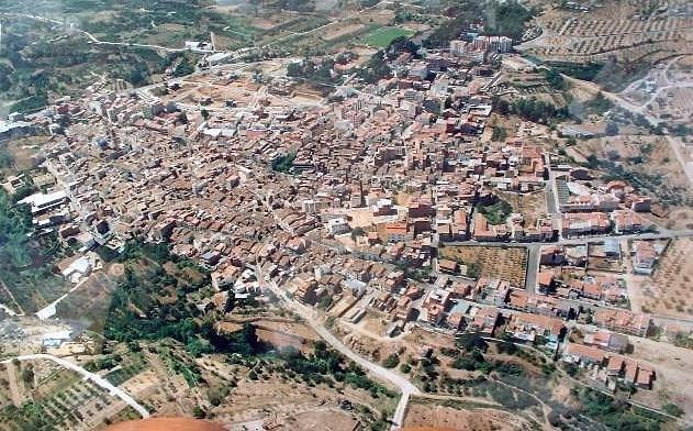 Vista aéra de Altura. Foto: villadealtura.com