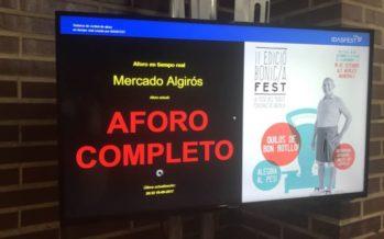 El Bonic/a Fest ilumina la noche valenciana con control de aforo en tiempo real