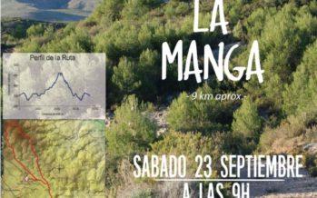 La concejalía de Turismo de Cheste organiza una ruta por el Sendero de la Manga