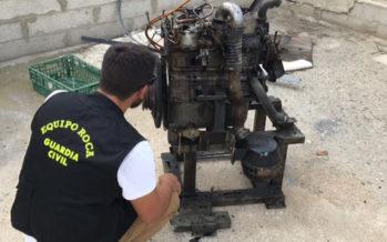 Detienen a dos hombres que habían robado un generador de luz en Xàtiva