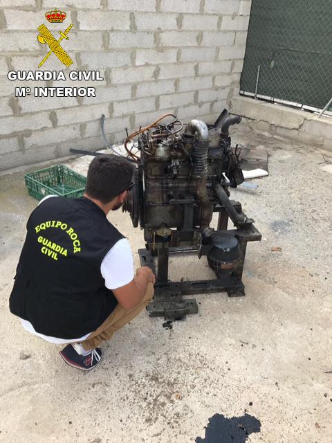 El generador de luz sustraído en Xàtiva