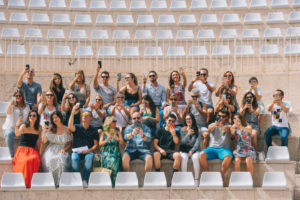 Instagramers de tres comunidades autónomas fotografían Sagunto en la campaña Escenario de tu Historia