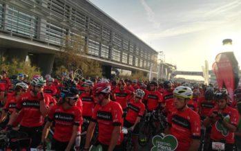 Dos mil almas por la plena inclusión en la Marcha Cicloturista de Valencia