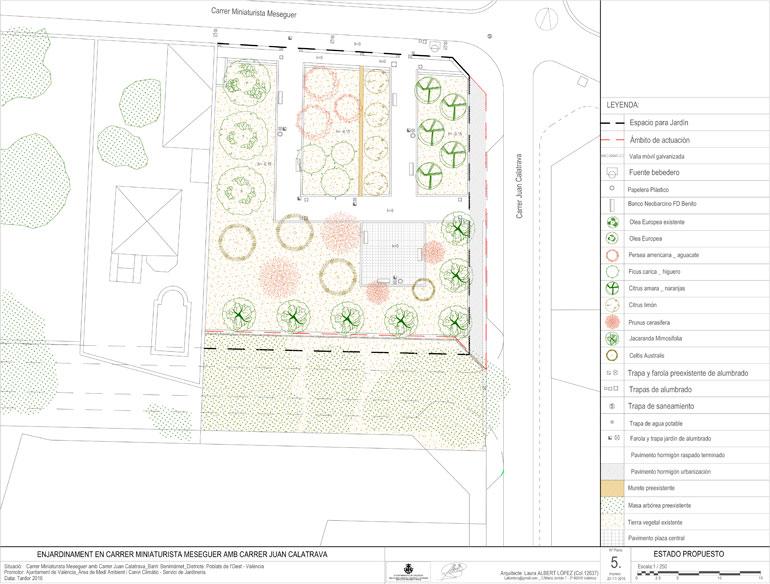 Comienzan las obras de un segundo parque en Benimàmet.