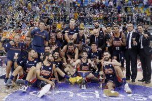 Valencia Basket, campeón de la Supercopa Endesa 2017