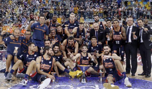 Valencia Basket se proclama campeón de la Supercopa Endesa (63-69)