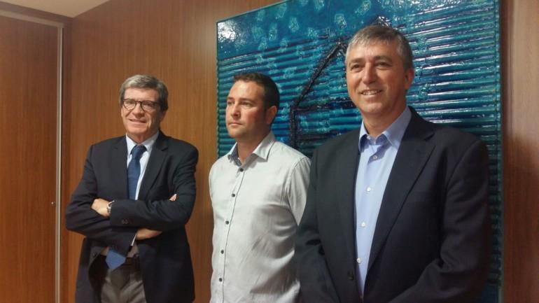 Climent ha mantenido una reunión con el alcalde de Chiva y con el Presidente de la Autoridad Portuaria de Valencia para conocer el proyecto
