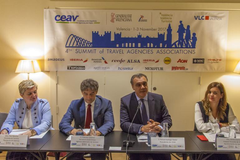 La IV Cimera Mundial d'Associacions d'Agències de Viatges es celebrarà en novembre a València