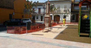 Benifaraig obri la nova i reformada plaça del Greco
