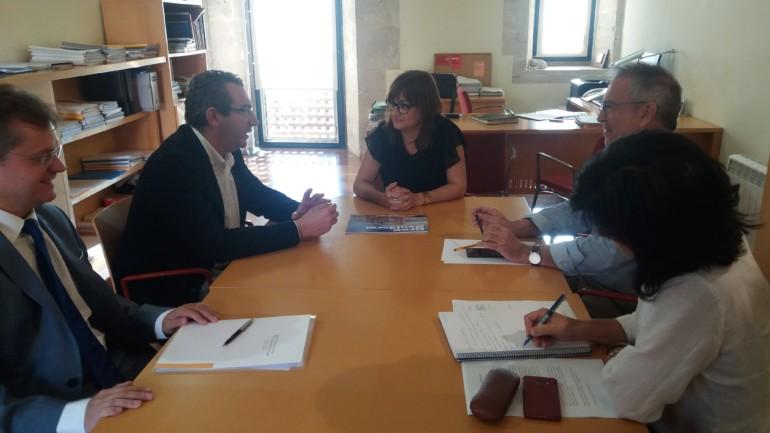 Amoraga y el alcalde de Benidorm se han reunido para intercambiar información sobre los trámites