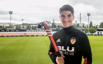 Carlos Soler, embajador de la Copa del Rey y de la Reina 2018