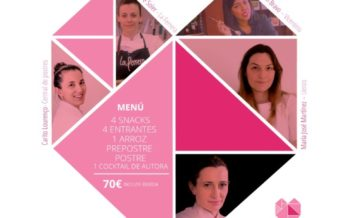 Cocineras de Primera en València se unen contra la violencia de género