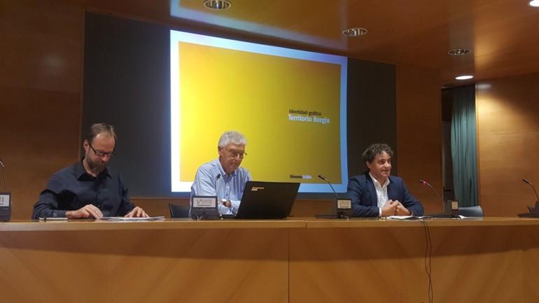 El secretario autonómico de la Agència Valenciana del Turisme, Francesc Colomer, ha presentado en el Centre de Turisme de València la nueva marca turística de la ruta Territorio Borja en la Comunitat Valenciana