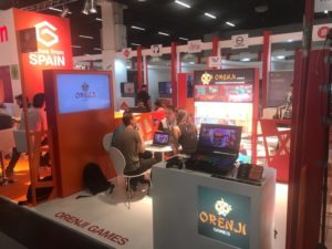 Orenji Games en la Feria