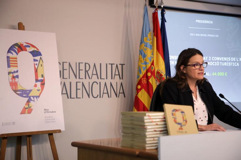 """Mónica Oltra, ha destacado que la Generalitat ha decidido conceder la Alta Distinción a Serrat """"por rescatar del olvido a uno de los mayores poetas valencianos de la historia, Miguel Hernández"""""""