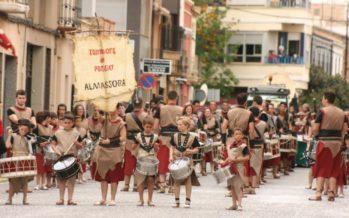 Toque de Almassora en la entrada mora de Alcoy 2018