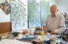 El artista Salvador Montesa vuelve a Paiporta 16 años después