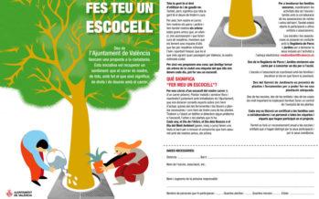 L'Ajuntament de València convida escolars i veïns a adoptar un escocell del seu barri