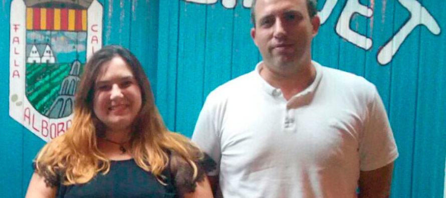 La Falla Calvet d'Alboraia proclama a Maika Lloria Fallera Major