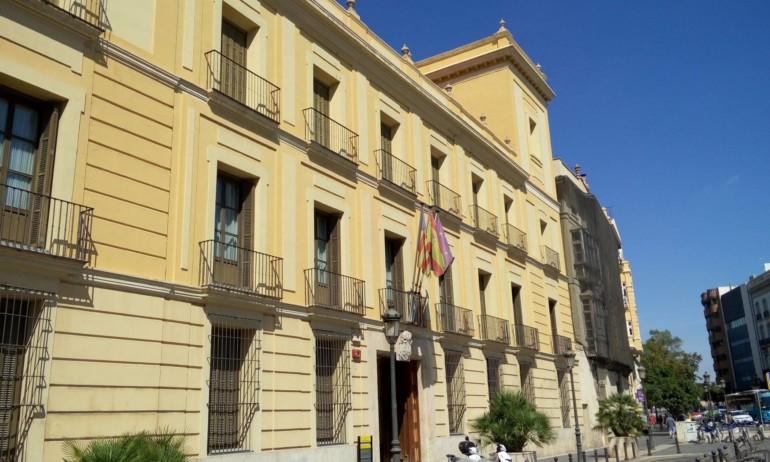 Palacio de Cervelló. Fachada