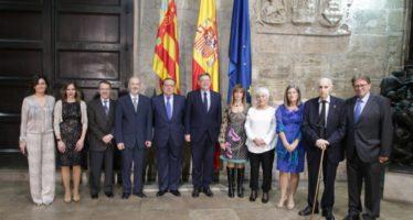 Puig recibe a los galardonados con los Premios 'Rey Jaime I' 2017