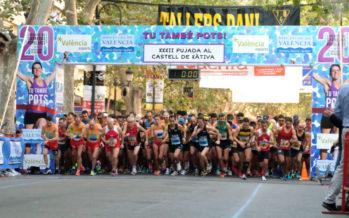 Fátima Ayachi i Hicham Ettaichmi guanyen la XXXII Pujada al Castell de Xàtiva