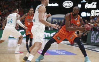 Valencia Basket pierde en su cancha con el Real Madrid (82-86)